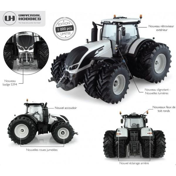 VALTRA S 394  8 roues