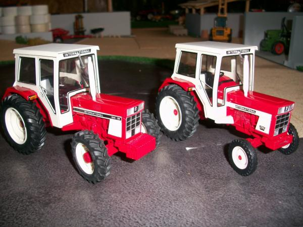 Modification Tracteur IH