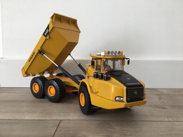 Modification Tombereau volvo A40D