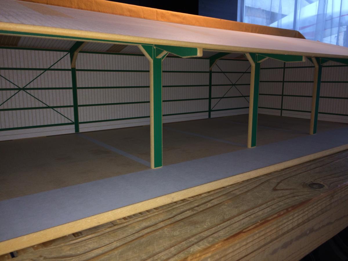Hangar pour mat riels 1 32 grand brushwood toys batiments occasion - Vide hangar materiel agricole occasion ...