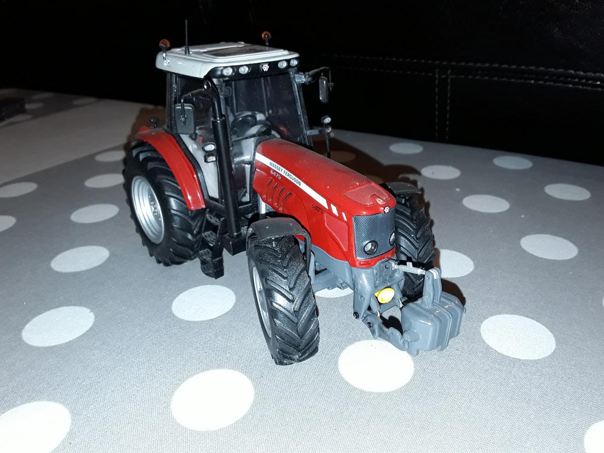 tracteur massey ferguson 6475 universal hobbies tracteurs simples. Black Bedroom Furniture Sets. Home Design Ideas