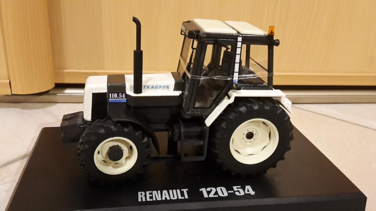 renault 110 54 tracfor blanc replicagri tracteurs simples occasion. Black Bedroom Furniture Sets. Home Design Ideas