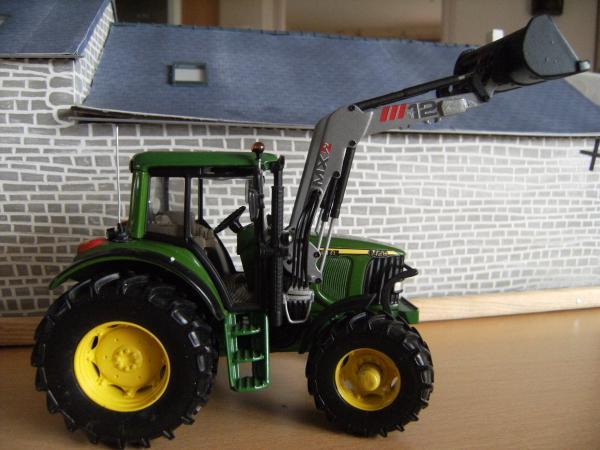 tracteur john deere 6420 artisanal tracteurs avec chargeur occasion. Black Bedroom Furniture Sets. Home Design Ideas