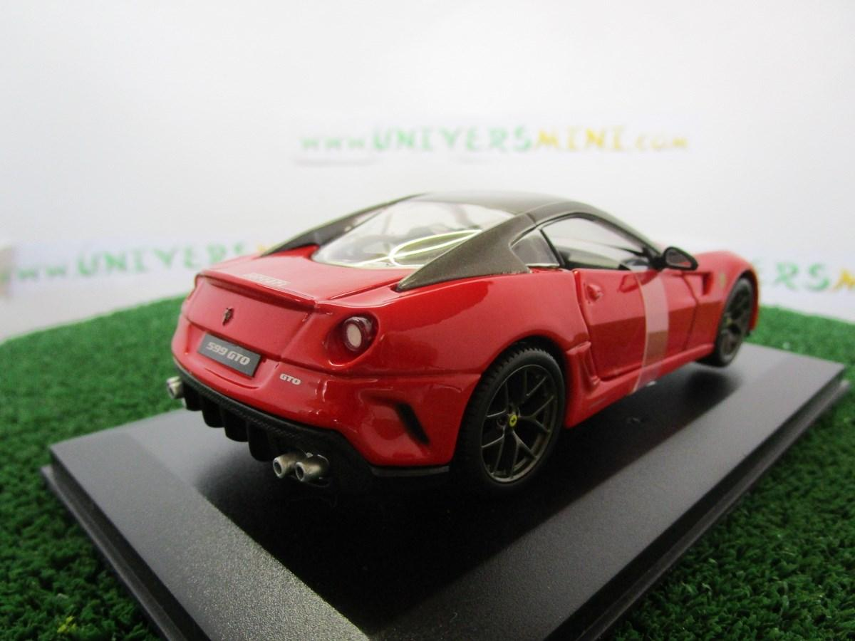 voiture ferrari 599 gto rouge 44024rouge burago accessoires v hicules. Black Bedroom Furniture Sets. Home Design Ideas