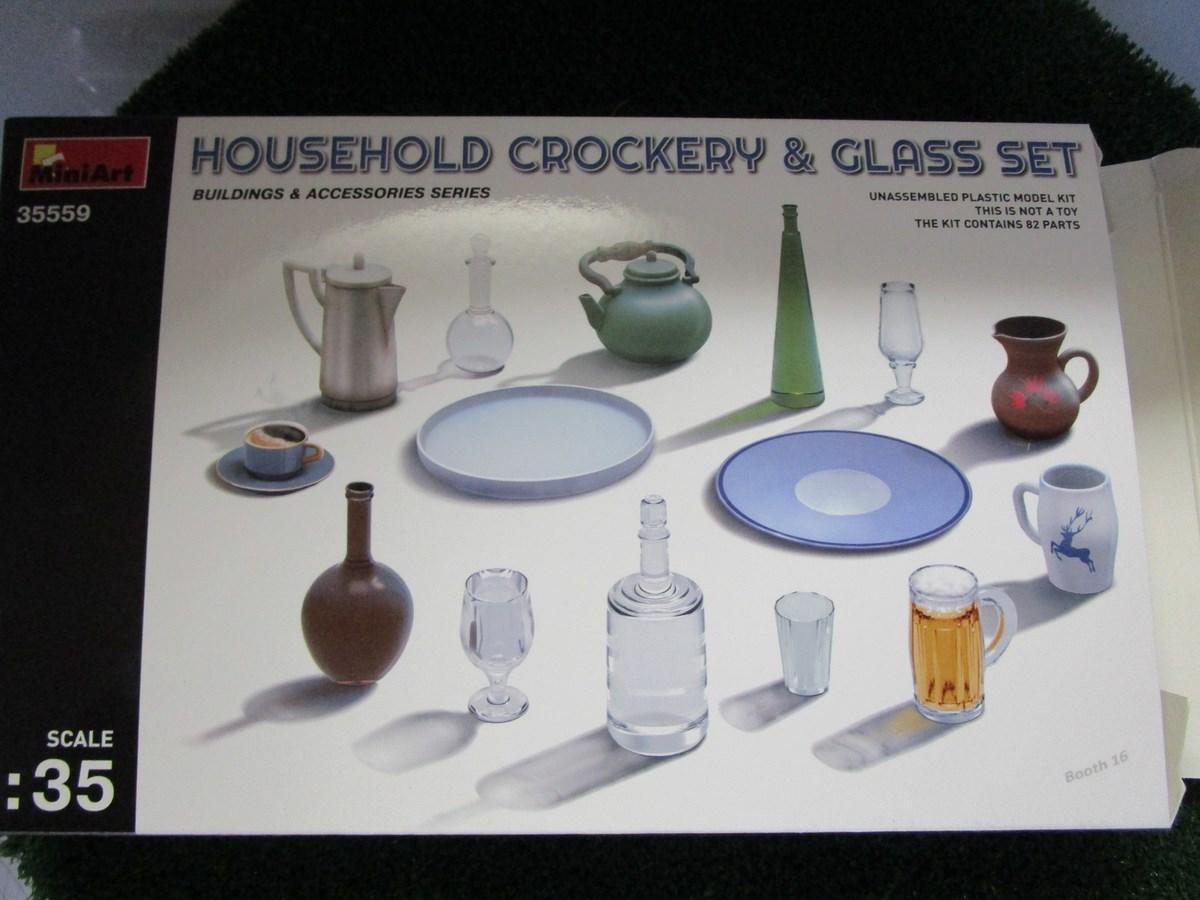 Accessoires vaisselle 35559 miniart for Accessoire vaisselle