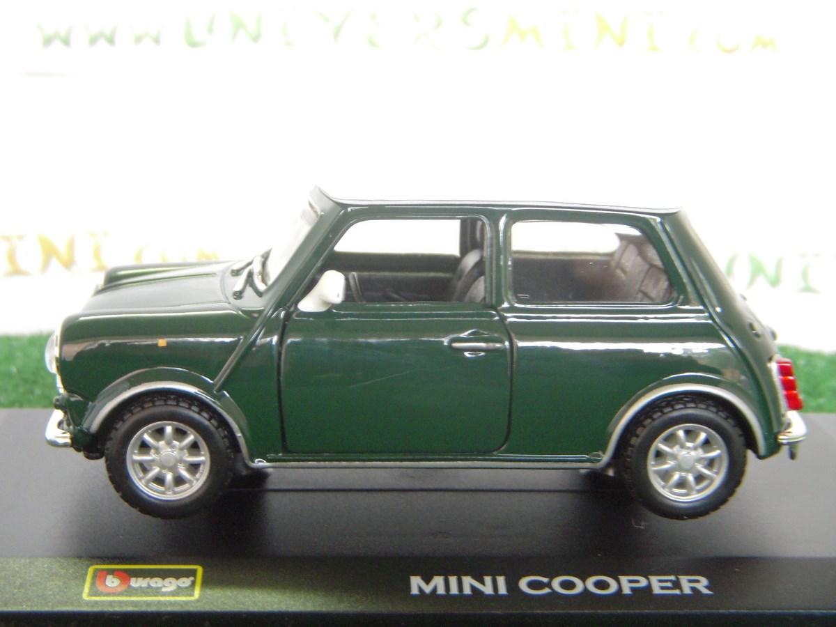 voiture mini cooper 1960 verte 43206green burago accessoires v hicules. Black Bedroom Furniture Sets. Home Design Ideas