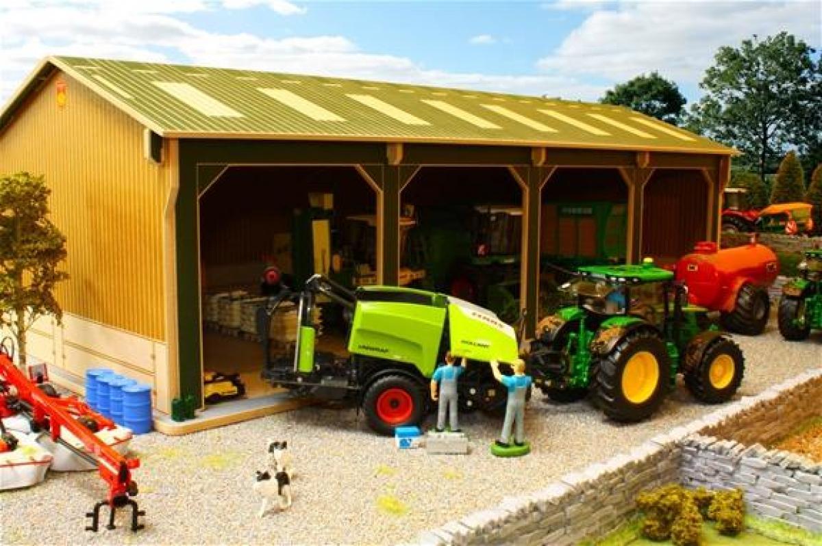 Hangar 4 Trav 233 Es Bbb160 Brushwood Toys 49 50