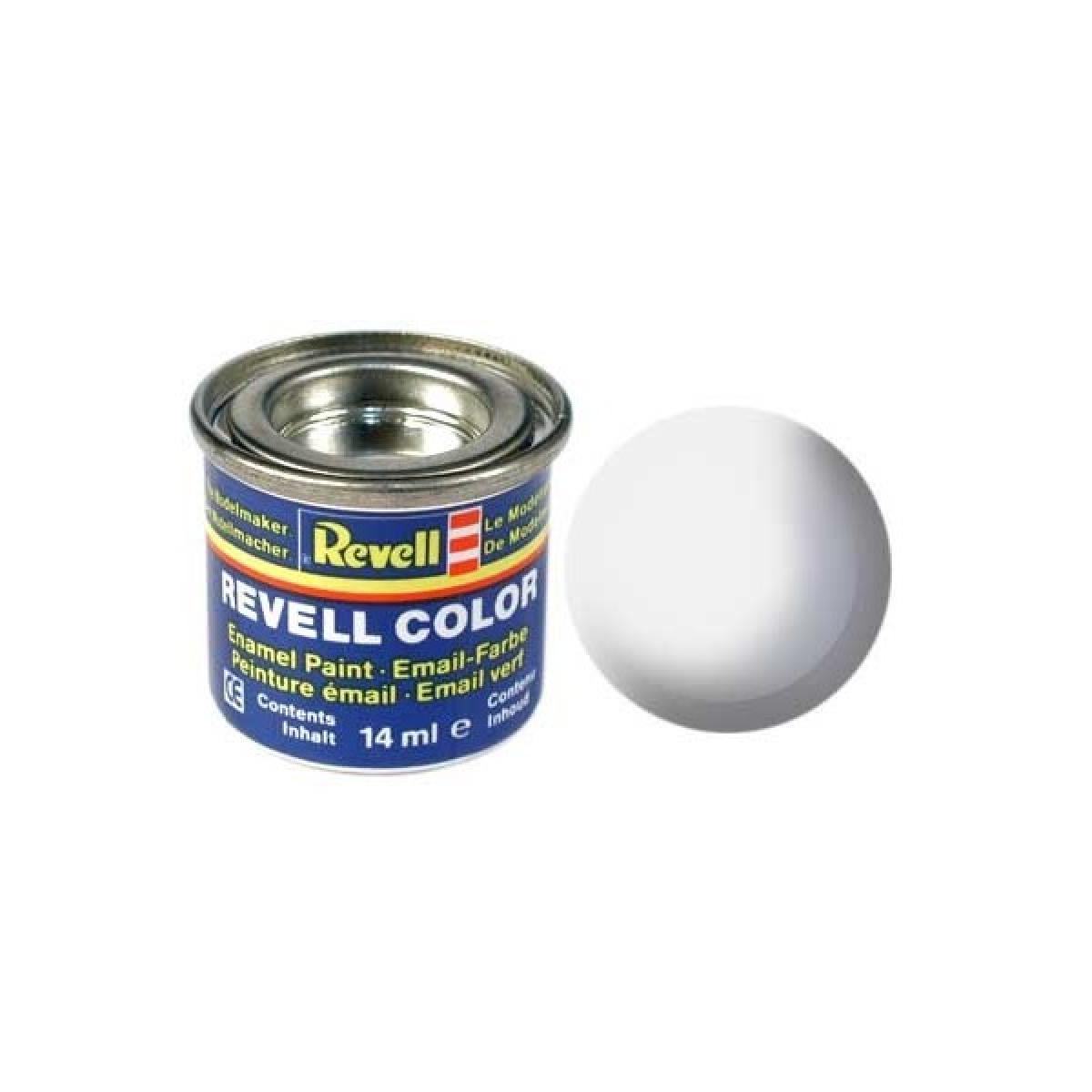Peinture mail enamel blanc mat revell05 revell mat riaux outils peinture for Peinture pour email