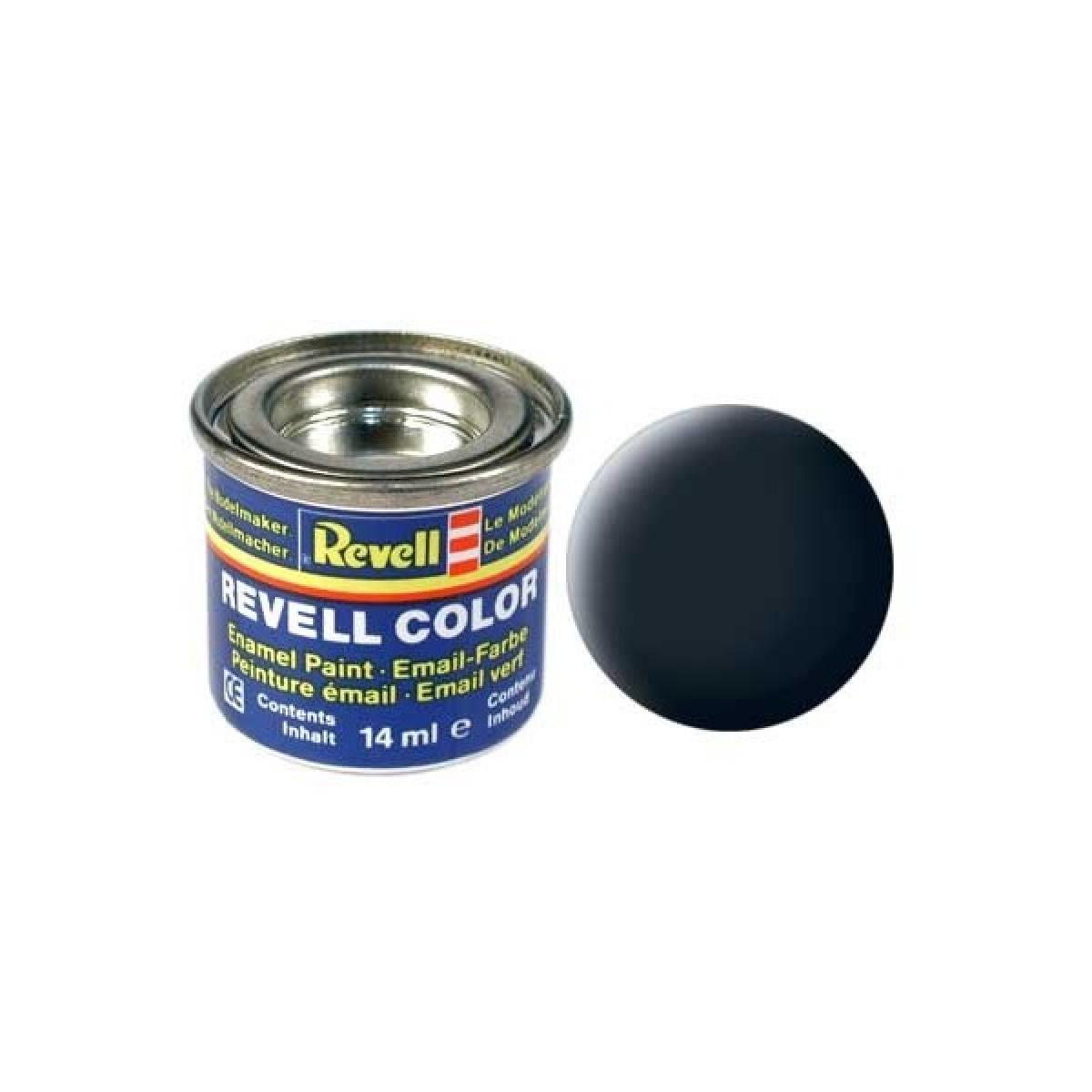 Peinture mail enamel gris fonc mat revell78 revell mat riaux outils peinture for Peinture pour email