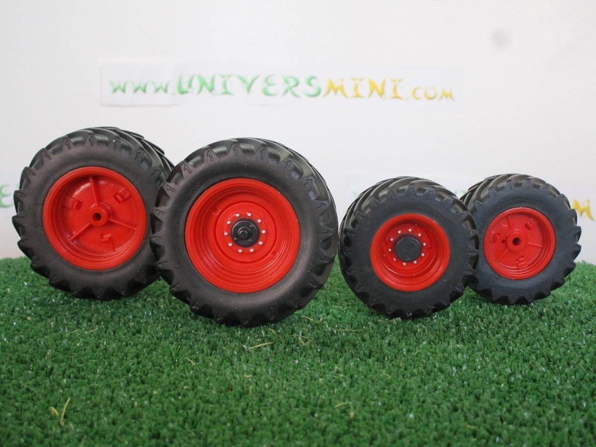 4 pneus 2 arri re et 2 avant jantes pour tracteur claas arion 640 du fabricant wiking. Black Bedroom Furniture Sets. Home Design Ideas