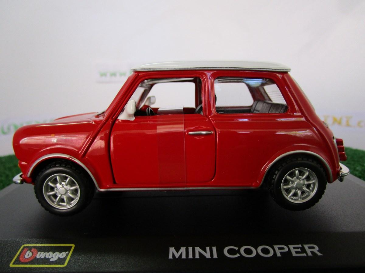 voiture mini cooper 1960 rouge 43206red burago. Black Bedroom Furniture Sets. Home Design Ideas