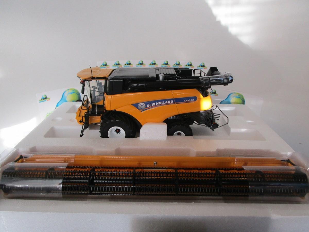 Universal Hobbies Jaune UH4868 Moissonneuse Batteuse New Holland CR 10.90 sur Roues-Echelle 1//32