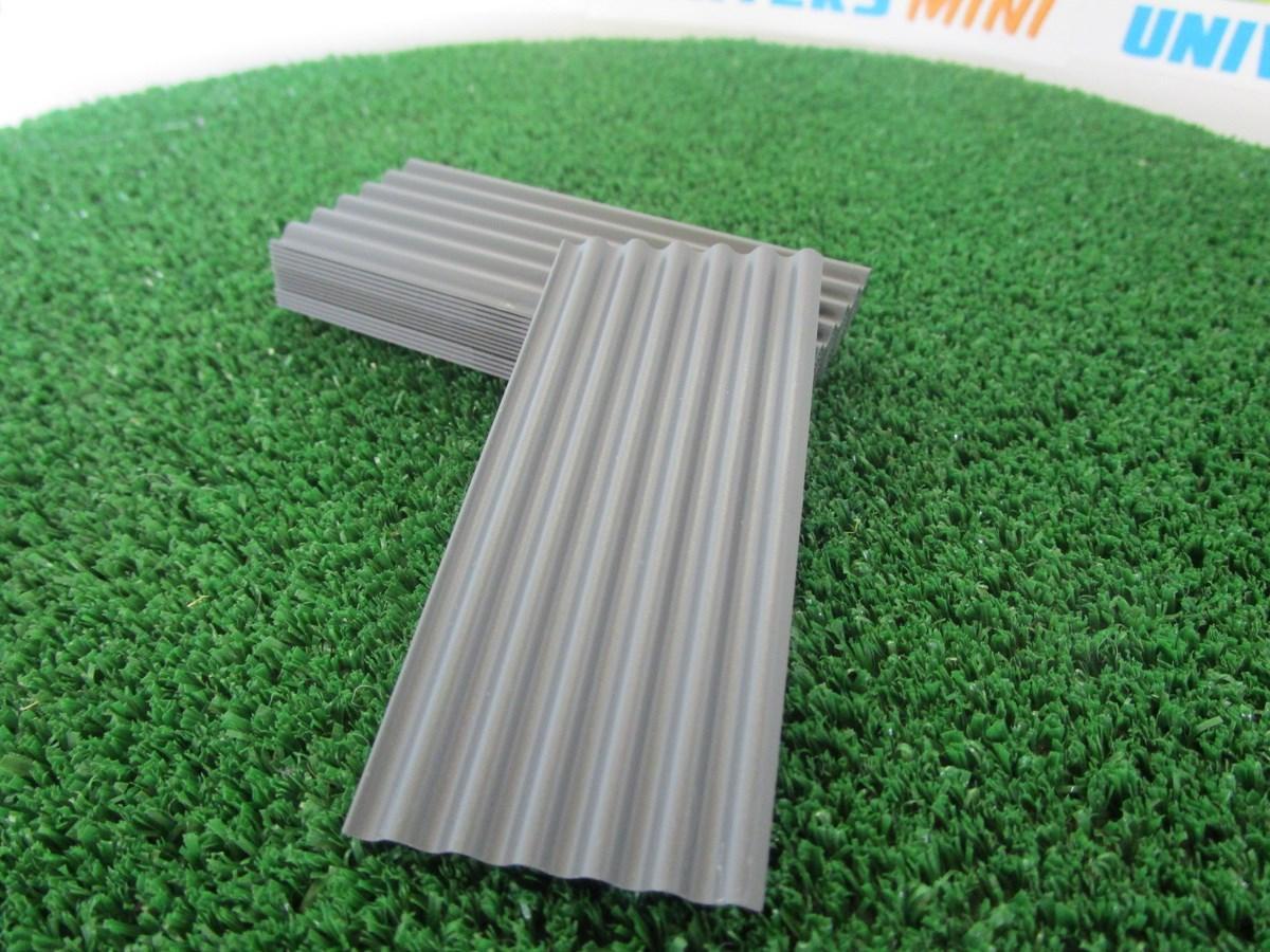15 t les ondul es grises anthracite 23264 juweela accessoires batiments. Black Bedroom Furniture Sets. Home Design Ideas