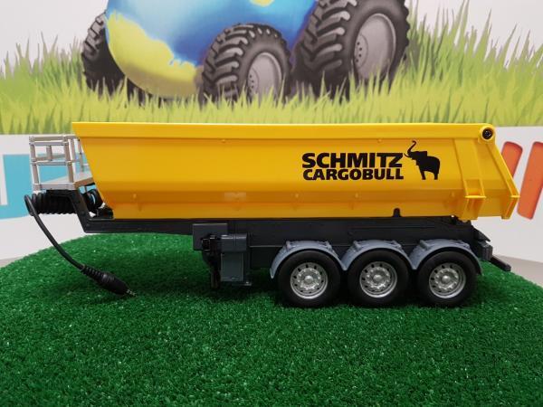 SCHMITZ 3 axles semi tipper Cargobull (Control32)