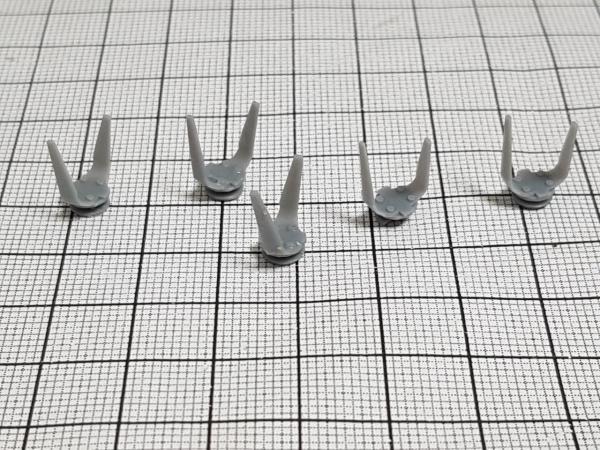 Grada rotativa de 5 dientes N ° 2