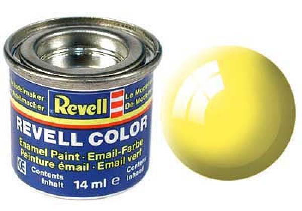 Pintura de esmalte amarillo brillante