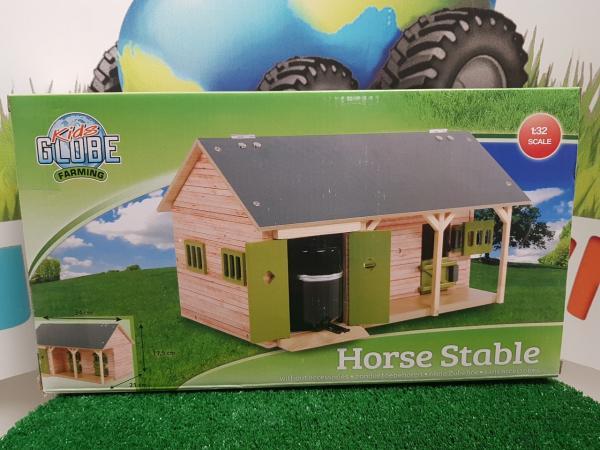 Establo con 2 boxes para caballos
