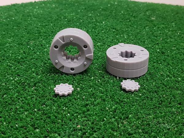 2 masas de rueda (doble)