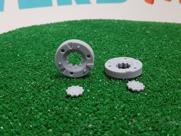 2 masas de rueda (simple)