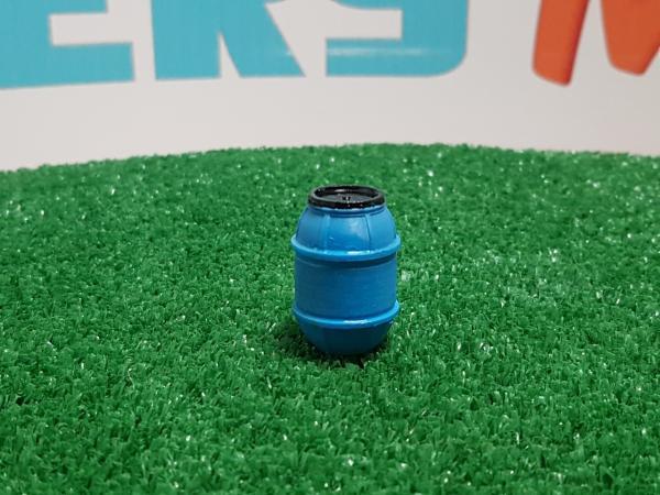Bidón de plástico azul N ° 2