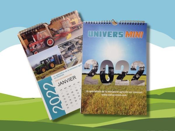 Calendario da parete UniversMini 2022