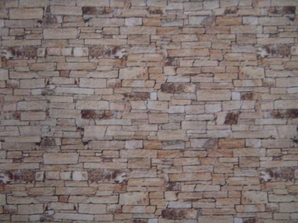 5 feuilles imitation mur en pierre à coller (FBW04, Hollylovestoys ...