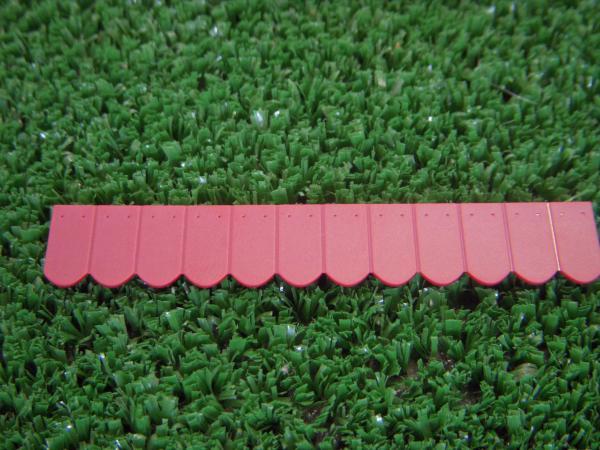216 tuiles arrondies rouge brique fonc 18 rang es de 12 tuiles 23242 juweela