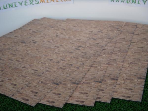 5 feuilles imitation mur en pierre coller fbw04 hollylovestoys accessoires. Black Bedroom Furniture Sets. Home Design Ideas