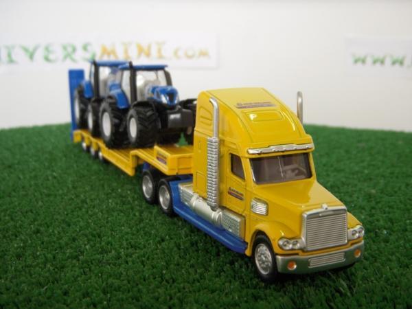 camion am ricain surbaiss 2 tracteurs new holland 1805 siku travaux publics. Black Bedroom Furniture Sets. Home Design Ideas
