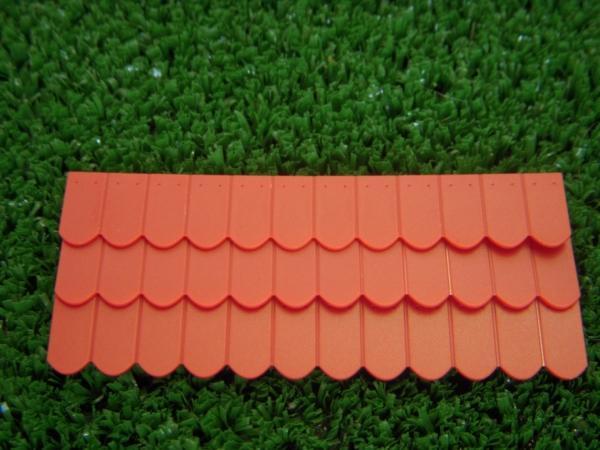 108 tuiles arrondies rouge brique moyen 9 rang es de 12 tuiles 23239 juweela