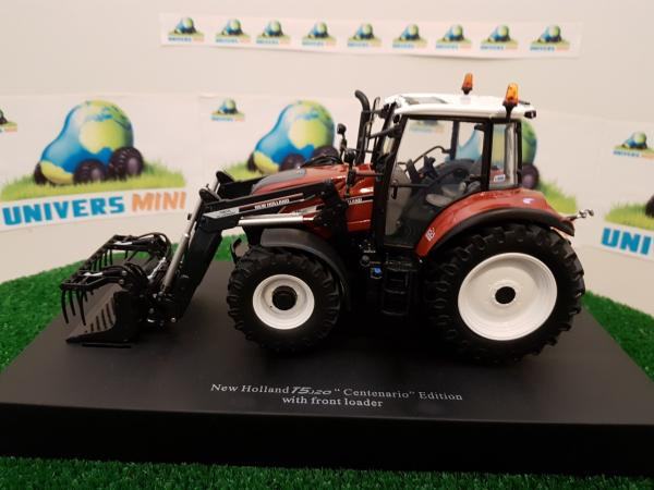 NEW HOLLAND T5.120 Centenario + chargeur
